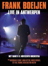 Cover Frank Boeijen - Live in Antwerpen [DVD]